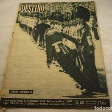 Coleccionismo de Revista Destino: REVISTA DESTINO 1037. Lote 98194503