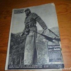 Coleccionismo de Revista Destino: REVISTA DESTINO, Nº 1117. 3 ENERO 1959. FIDEL CASTRO GANA A BATISTA. Lote 105240151