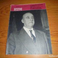 Coleccionismo de Revista Destino: REVISTA DESTINO Nº 1145, 18 DE JULIO 1959. PORTADA, FRANCISCO FRANCO. Lote 105245263