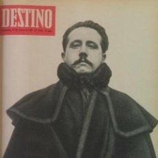 Colecionismo da Revista Destino: DESTINO REVISTA ( 1967 ) LOTE 8 NÚMEROS ENCUADERNADOS ( VER FOTOS PORTADAS Y SUMARIOS ). Lote 105871859