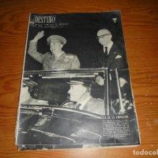 Coleccionismo de Revista Destino: REVISTA DESTINO Nº 1016. 26 DE ENERO 1957. DIA DE LA LIBERACION. Lote 105885663