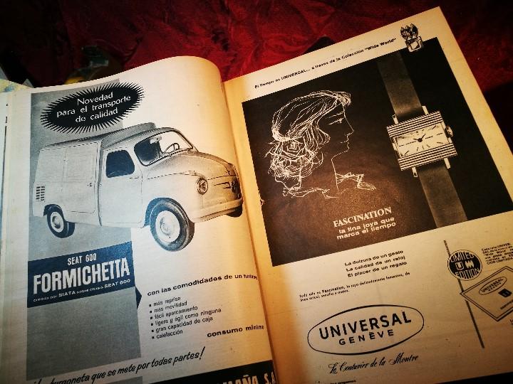 Coleccionismo de Revista Destino: REVISTA SEMANAL DESTINO - AÑO 1962 - COMPLETO - 52 REVISTAS DEL Nº 1274 AL 1325.bien encuadernado - Foto 2 - 108702911