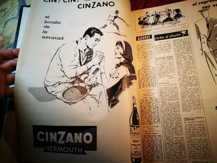 Coleccionismo de Revista Destino: REVISTA SEMANAL DESTINO - AÑO 1962 - COMPLETO - 52 REVISTAS DEL Nº 1274 AL 1325.bien encuadernado - Foto 3 - 108702911