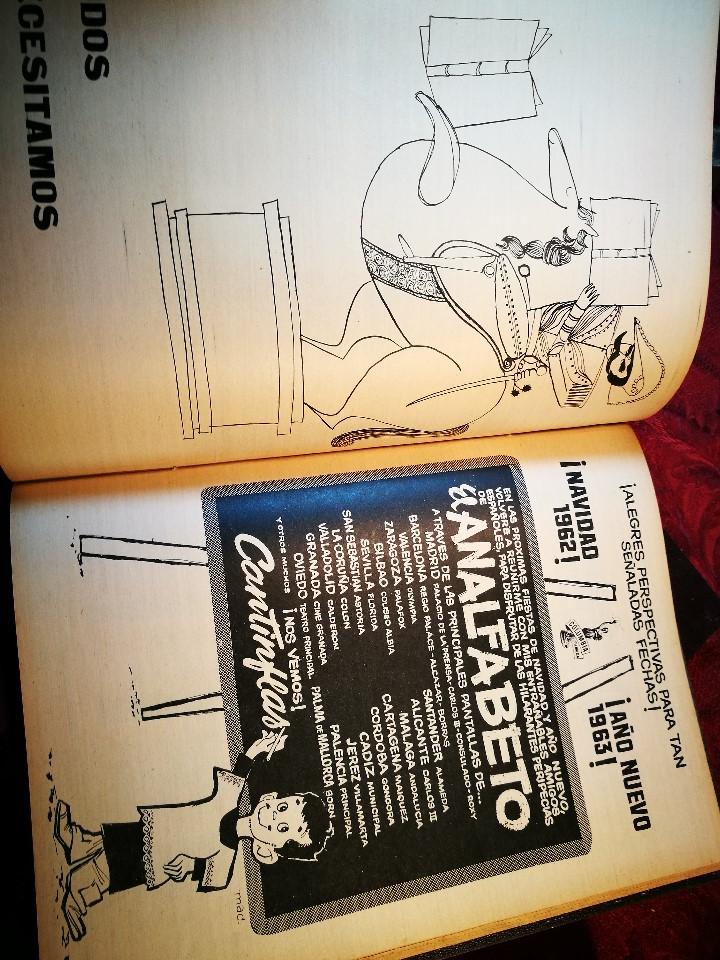 Coleccionismo de Revista Destino: REVISTA SEMANAL DESTINO - AÑO 1962 - COMPLETO - 52 REVISTAS DEL Nº 1274 AL 1325.bien encuadernado - Foto 6 - 108702911