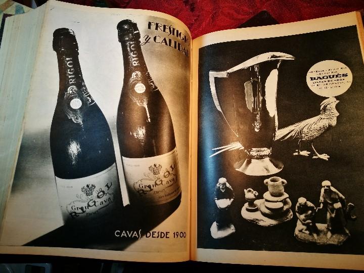 Coleccionismo de Revista Destino: REVISTA SEMANAL DESTINO - AÑO 1962 - COMPLETO - 52 REVISTAS DEL Nº 1274 AL 1325.bien encuadernado - Foto 7 - 108702911