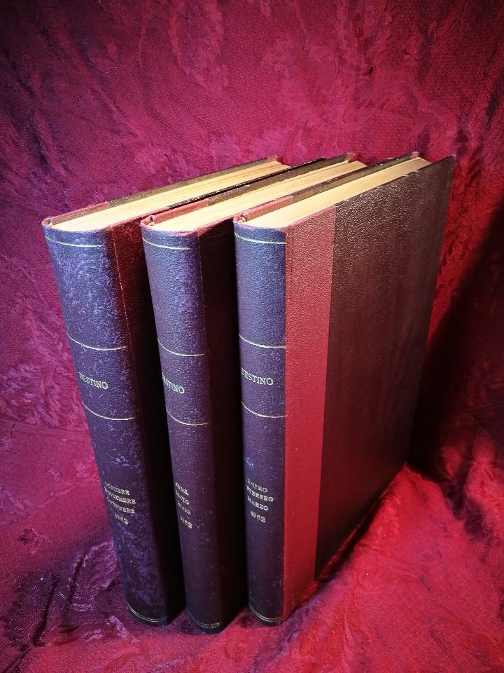 Coleccionismo de Revista Destino: REVISTA SEMANAL DESTINO - AÑO 1962 - COMPLETO - 52 REVISTAS DEL Nº 1274 AL 1325.bien encuadernado - Foto 9 - 108702911
