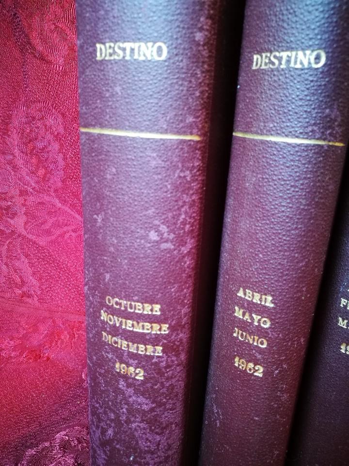 Coleccionismo de Revista Destino: REVISTA SEMANAL DESTINO - AÑO 1962 - COMPLETO - 52 REVISTAS DEL Nº 1274 AL 1325.bien encuadernado - Foto 16 - 108702911