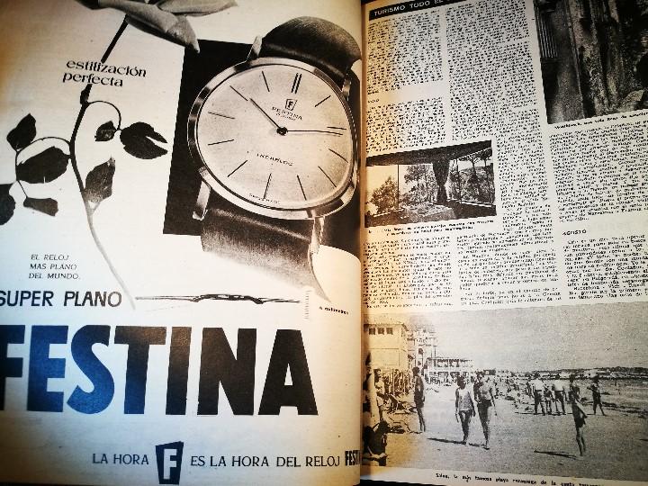 Coleccionismo de Revista Destino: REVISTA SEMANAL DESTINO - AÑO 1962 - COMPLETO - 52 REVISTAS DEL Nº 1274 AL 1325.bien encuadernado - Foto 29 - 108702911