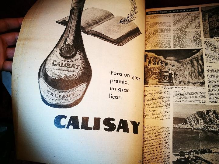 Coleccionismo de Revista Destino: REVISTA SEMANAL DESTINO - AÑO 1962 - COMPLETO - 52 REVISTAS DEL Nº 1274 AL 1325.bien encuadernado - Foto 30 - 108702911