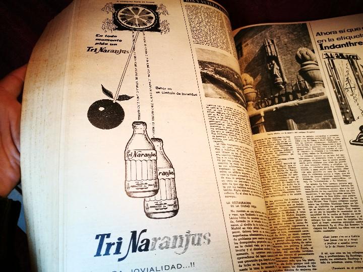 Coleccionismo de Revista Destino: REVISTA SEMANAL DESTINO - AÑO 1962 - COMPLETO - 52 REVISTAS DEL Nº 1274 AL 1325.bien encuadernado - Foto 31 - 108702911