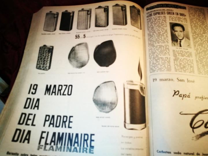 Coleccionismo de Revista Destino: REVISTA SEMANAL DESTINO - AÑO 1962 - COMPLETO - 52 REVISTAS DEL Nº 1274 AL 1325.bien encuadernado - Foto 33 - 108702911