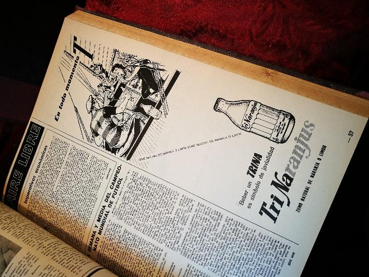 Coleccionismo de Revista Destino: REVISTA SEMANAL DESTINO - AÑO 1962 - COMPLETO - 52 REVISTAS DEL Nº 1274 AL 1325.bien encuadernado - Foto 34 - 108702911