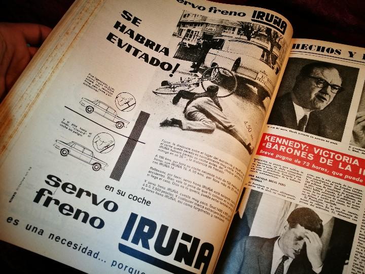 Coleccionismo de Revista Destino: REVISTA SEMANAL DESTINO - AÑO 1962 - COMPLETO - 52 REVISTAS DEL Nº 1274 AL 1325.bien encuadernado - Foto 35 - 108702911