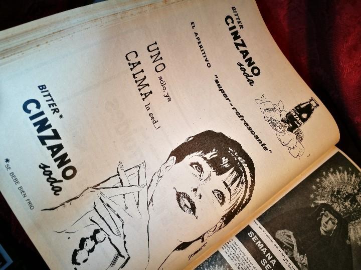 Coleccionismo de Revista Destino: REVISTA SEMANAL DESTINO - AÑO 1962 - COMPLETO - 52 REVISTAS DEL Nº 1274 AL 1325.bien encuadernado - Foto 37 - 108702911