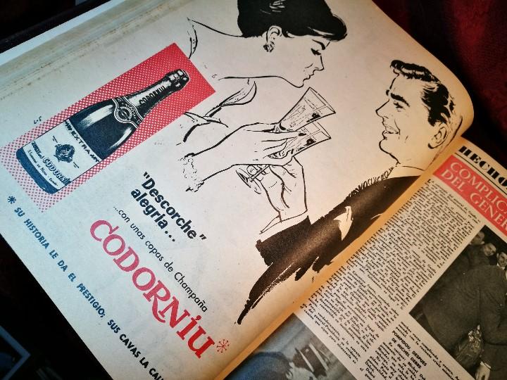 Coleccionismo de Revista Destino: REVISTA SEMANAL DESTINO - AÑO 1962 - COMPLETO - 52 REVISTAS DEL Nº 1274 AL 1325.bien encuadernado - Foto 39 - 108702911