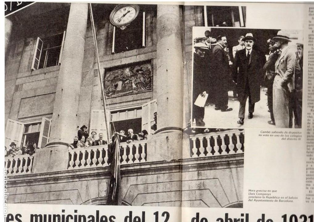 Coleccionismo de Revista Destino: LLUIS COMPANYS. LAS ELECCIONES MUNICIPALES DE 12 DE ABRIL DE 1931. 1976. Ver sumario. - Foto 2 - 108756191