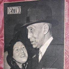 Coleccionismo de Revista Destino: DESTINO Nº 888 AÑ0 1954. Lote 109840223