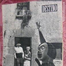 Coleccionismo de Revista Destino: DESTINO Nº 891 AÑ0 1954. Lote 109841435