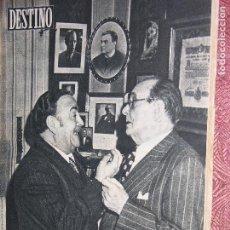 Coleccionismo de Revista Destino: DESTINO Nº 899 AÑO 1954. Lote 109844439
