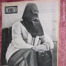 Coleccionismo de Revista Destino: DESTINO Nº 868 AÑO 1954. Lote 109851515