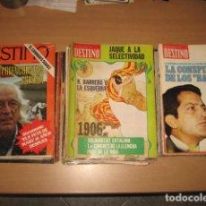 Coleccionismo de Revista Destino: LOTE 50 REVISTAS DESTINO ENTRE Nº 1998 Y 2223. Lote 113478159