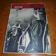 Coleccionismo de Revista Destino: DESTINO Nº 1127, MARZO 1959. ANTIGUO GREMIO DE CARPINTEROS DE BARCELONA ;ARABIA SAUDI. Lote 113666099