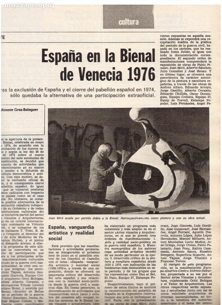 Coleccionismo de Revista Destino: barcelona es bona?, Luis Racionero.Salvador Millet I Bel, La nueva Liga.Joan Miró.Dalí.(ver sumario) - Foto 4 - 114016995
