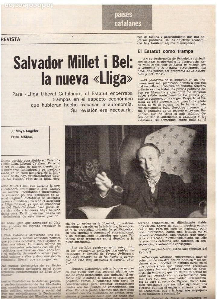 Coleccionismo de Revista Destino: barcelona es bona?, Luis Racionero.Salvador Millet I Bel, La nueva Liga.Joan Miró.Dalí.(ver sumario) - Foto 6 - 114016995