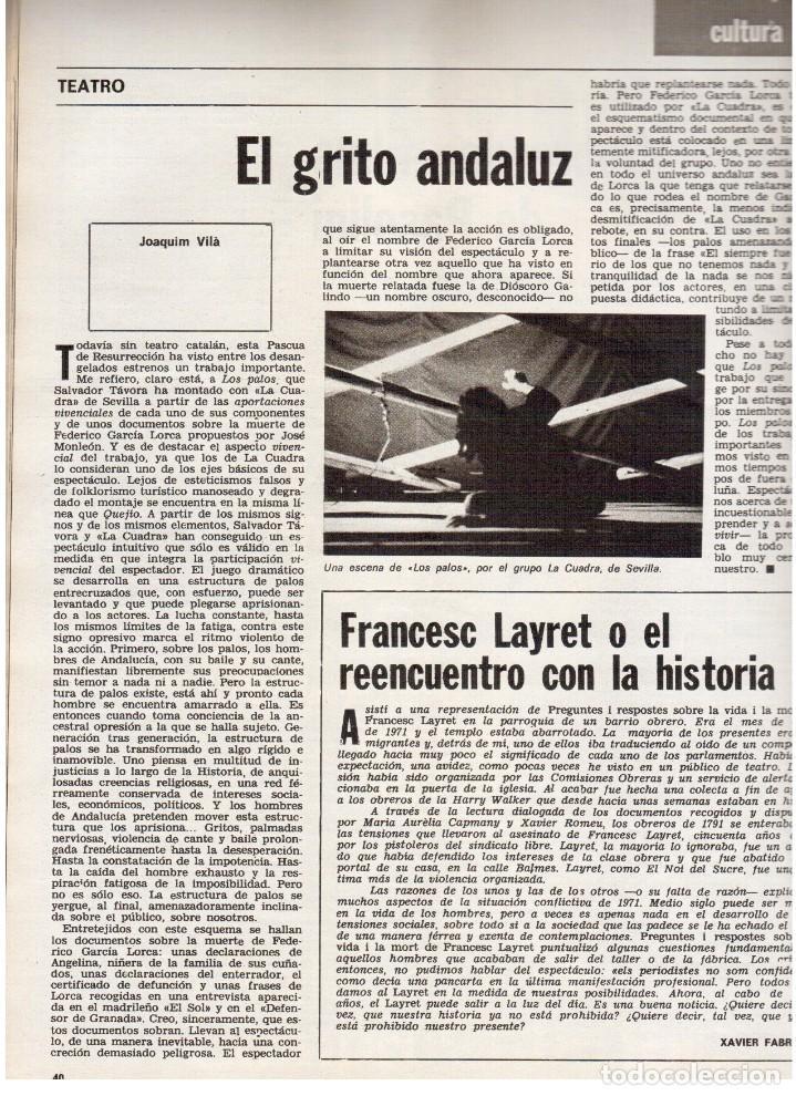 Coleccionismo de Revista Destino: movimientos obreros cataluña.victor alba.francesc layret.manolo mompó. JOAN CORNUDELLA.(ver sumario) - Foto 6 - 114020039