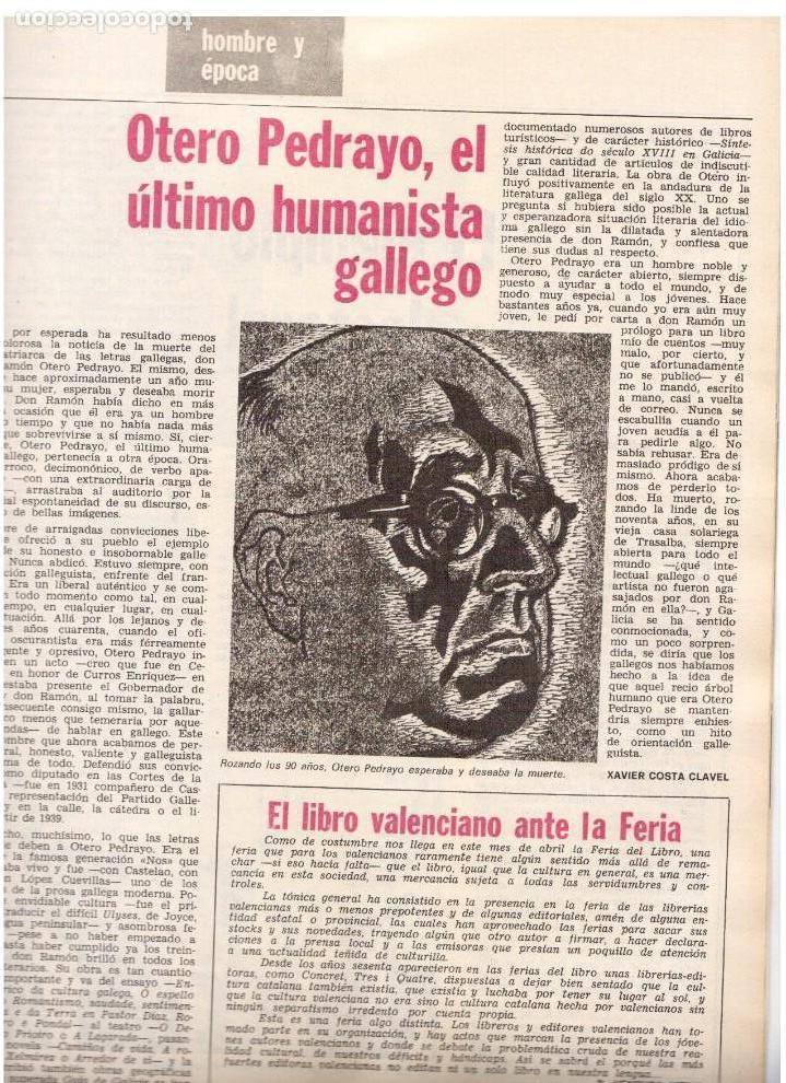 Coleccionismo de Revista Destino: movimientos obreros cataluña.victor alba.francesc layret.manolo mompó. JOAN CORNUDELLA.(ver sumario) - Foto 9 - 114020039
