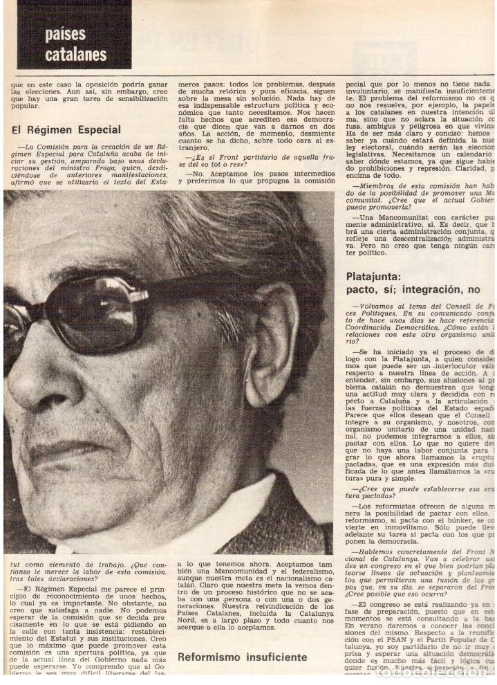Coleccionismo de Revista Destino: movimientos obreros cataluña.victor alba.francesc layret.manolo mompó. JOAN CORNUDELLA.(ver sumario) - Foto 11 - 114020039