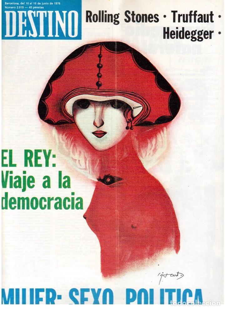 1976.FEMINISMO EN CATALUÑA.ROLLING STONES.TERENCE MOIX.JORDI PUJOL.TRUFFAUT.HEIDEGGER. (VER SUMARIO) (Coleccionismo - Revistas y Periódicos Modernos (a partir de 1.940) - Revista Destino)