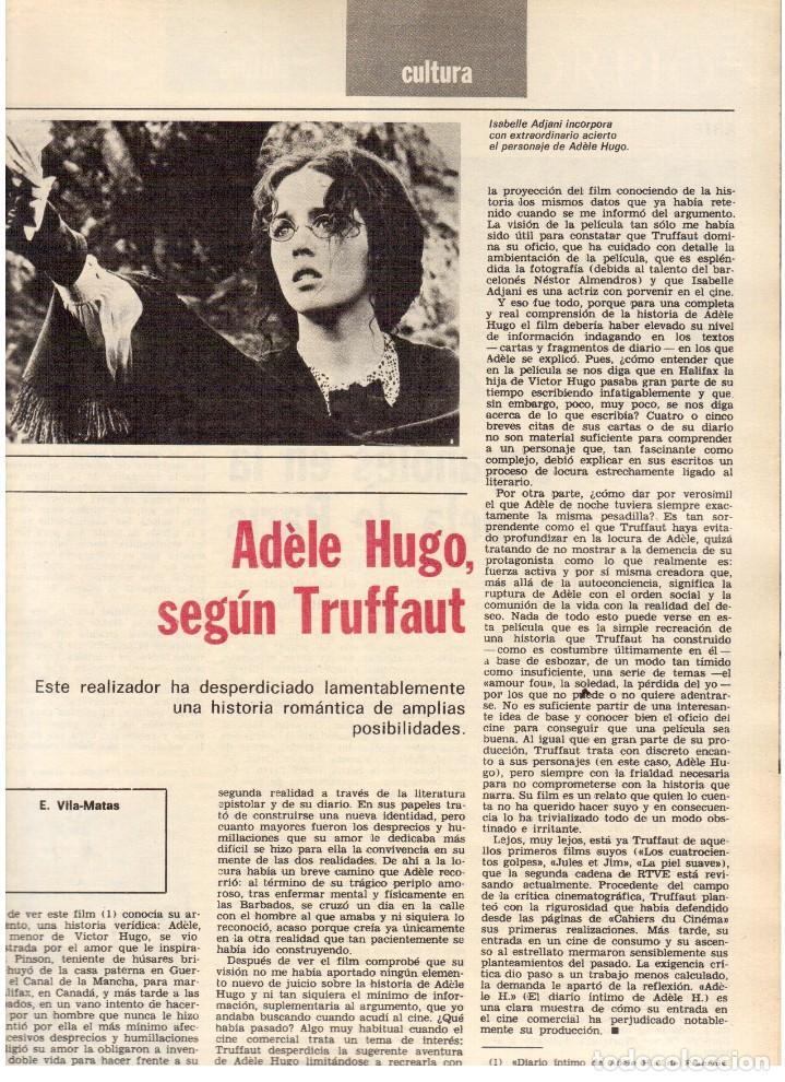 Coleccionismo de Revista Destino: 1976.FEMINISMO EN CATALUÑA.ROLLING STONES.TERENCE MOIX.JORDI PUJOL.TRUFFAUT.HEIDEGGER. (VER SUMARIO) - Foto 9 - 114619663