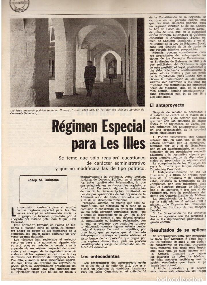 Coleccionismo de Revista Destino: 1976.FEMINISMO EN CATALUÑA.ROLLING STONES.TERENCE MOIX.JORDI PUJOL.TRUFFAUT.HEIDEGGER. (VER SUMARIO) - Foto 10 - 114619663