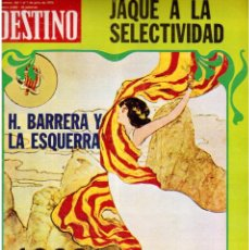 Coleccionismo de Revista Destino: 1976. HERIBERT BARRERA (ERC).GIRONA.JORDI PUJOL.JEAN GENET.SEBASTIÁ GASCH. (VER SUMARIO). Lote 114675907