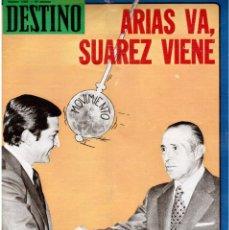 Coleccionismo de Revista Destino: 1976.JUAN GOYTISOLO.MARÍA DE ZAYAS. VIRGINIA WOOLF. I SETMANA DE L'HOSPITALET. LÉRIDA. (VER SUMARIO). Lote 114677539
