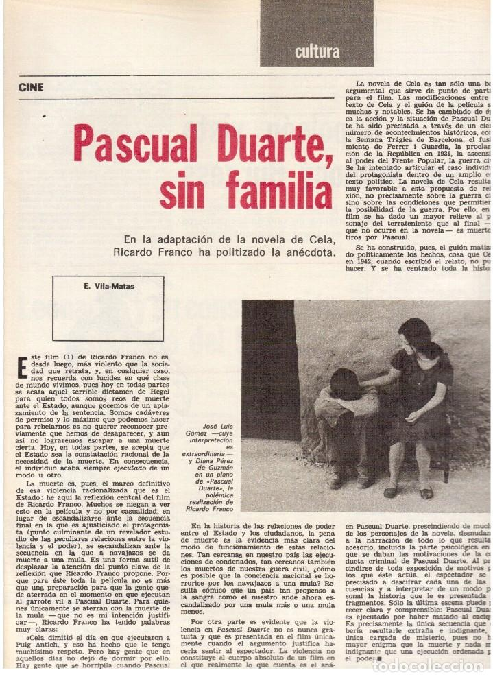 Coleccionismo de Revista Destino: 1976. XI ESCOLA D'ESTIU.JOSEP MELIÁ.PASCUAL DUARTE.NAPOLEÓN.VIAPLANA.PAÍSES CATALANES. (VER SUMARIO) - Foto 4 - 114760059