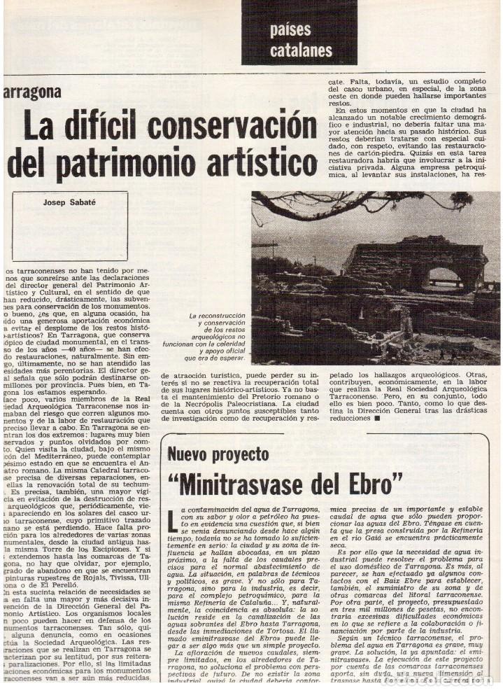 Coleccionismo de Revista Destino: 1976. XI ESCOLA D'ESTIU.JOSEP MELIÁ.PASCUAL DUARTE.NAPOLEÓN.VIAPLANA.PAÍSES CATALANES. (VER SUMARIO) - Foto 7 - 114760059