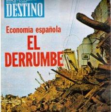 Coleccionismo de Revista Destino: 1976. MARCUSE.BERLANGA.PAU FANER.CECILIA.NURIA ESPERT.CARRILLO. (VER SUMARIO). Lote 114767175