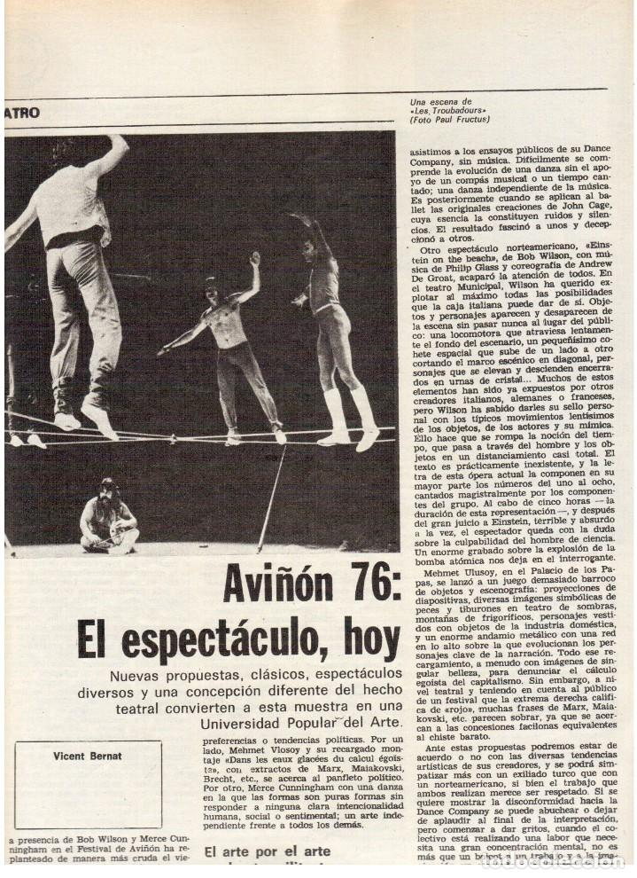 Coleccionismo de Revista Destino: 1976. DEL SINDICALISMO A PERTUR.INDUSTRIA FARMACEUTICA (GIGANTISMO).LEZAMA LIMA. (VER SUMARIO) - Foto 5 - 114773171