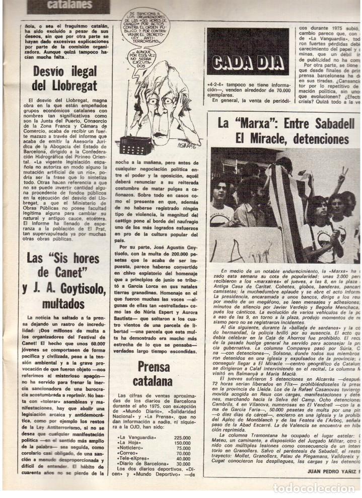 Coleccionismo de Revista Destino: 1976. TARRADELLAS. JORDI PUJOL.POLONIA.PAISES CATALANES. (VER SUMARIO) - Foto 8 - 114775099