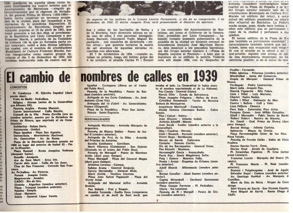 Coleccionismo de Revista Destino: 1976. EL PAIS, MIQUEL ROCA I JUNYENT.ARANGUREN.L'ONZE DE SETEMBRE, JORDI PUJOL.WARHOL. (VER SUMARIO) - Foto 7 - 114892263