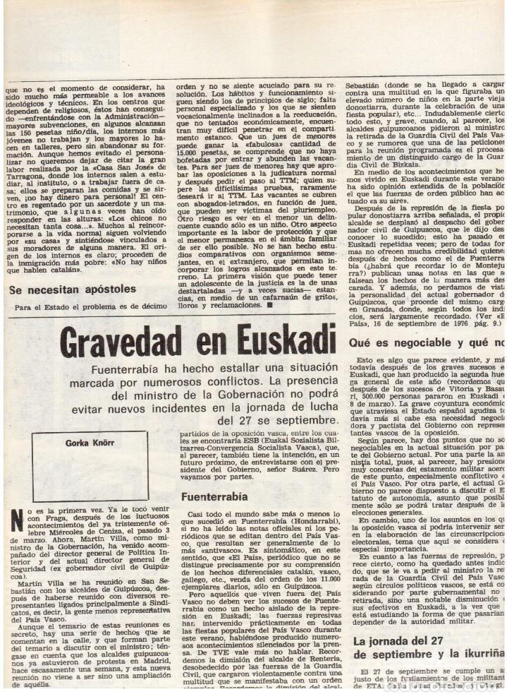 Coleccionismo de Revista Destino: 1976. LA EROTOMANIA.BANCA CATALANA.BARÇA.CARLES RAHOLA.RAIMON.PAISES CATALANES. (VER SUMARIO) - Foto 3 - 114931983
