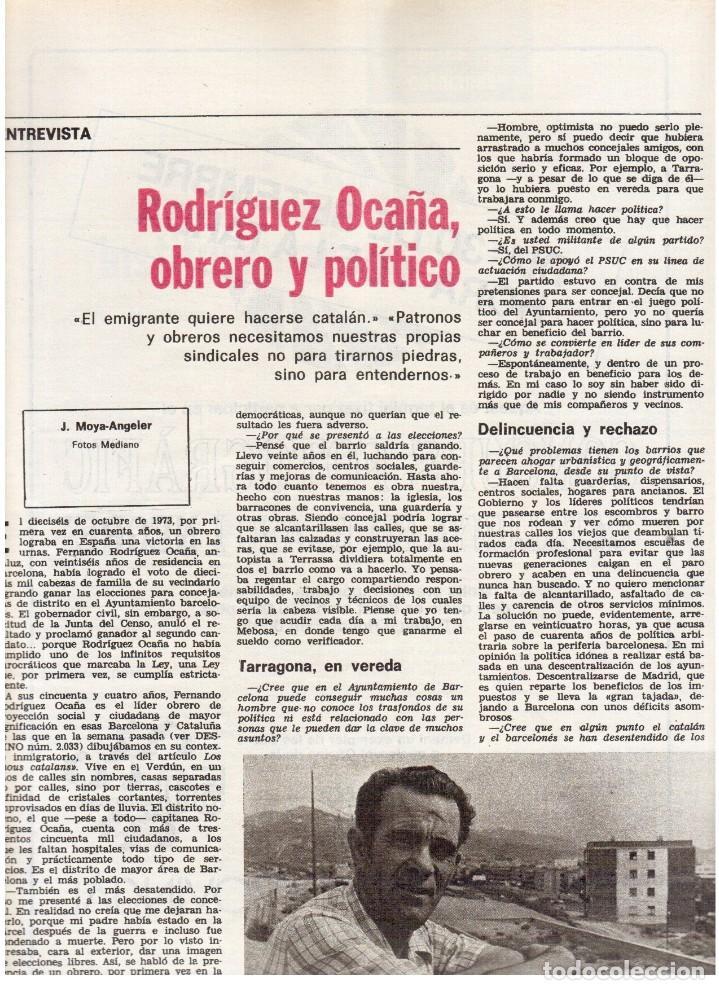 Coleccionismo de Revista Destino: 1976. LA EROTOMANIA.BANCA CATALANA.BARÇA.CARLES RAHOLA.RAIMON.PAISES CATALANES. (VER SUMARIO) - Foto 8 - 114931983