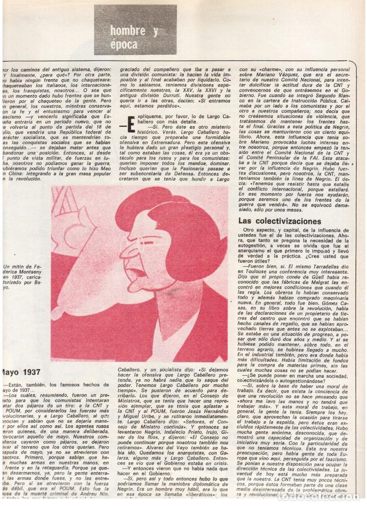 Coleccionismo de Revista Destino: 1976. FEDERICA MONTSENY. SERRAT NO;RAIMON SI.CASTELAO.LOS PANERO. PAISES CATALANES. (VER SUMARIO) - Foto 7 - 114934999