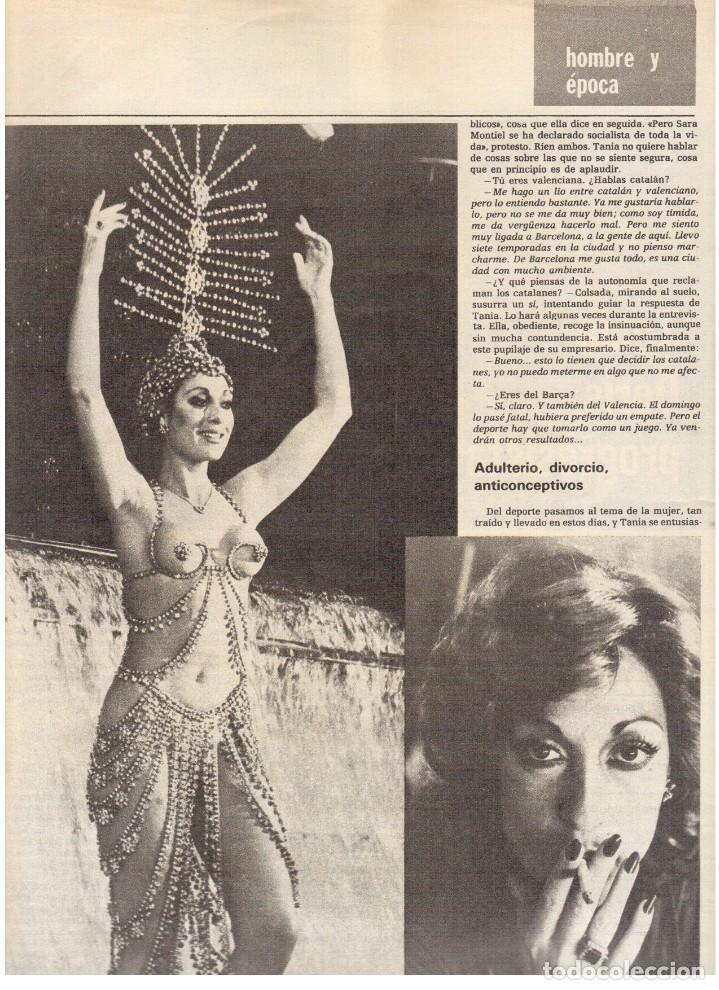 Coleccionismo de Revista Destino: 1976.TANIA DORIS.13 PARTIDOS CATALANES.PAU CASALS.EXILIADOS CATALANES.THEODORAKIS. (VER SUMARIO) - Foto 5 - 114937863