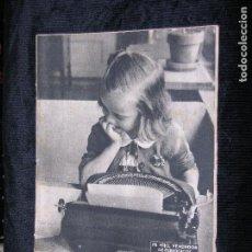 Coleccionismo de Revista Destino: F1 DESTINO Nº 740 AÑO 1951 MI HIJO VENDEDOR DE PERIODICOS. Lote 118347427