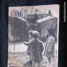 Coleccionismo de Revista Destino: F1 DESTINO Nº 767 AÑO 1951 PEDRALBES ENTRE EL CIELO Y LA CIUDAD.. Lote 118348607