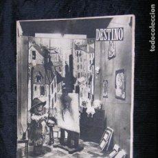 Coleccionismo de Revista Destino: FI DESTINO Nº 766 AÑO 1952 TALLER COMESTIBLE. Lote 118367603
