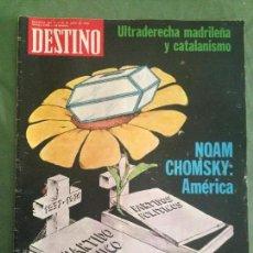 Coleccionismo de Revista Destino: DESTINO. Nº 2020. BARCELONA 23 JUNIO 1976.. Lote 120569131